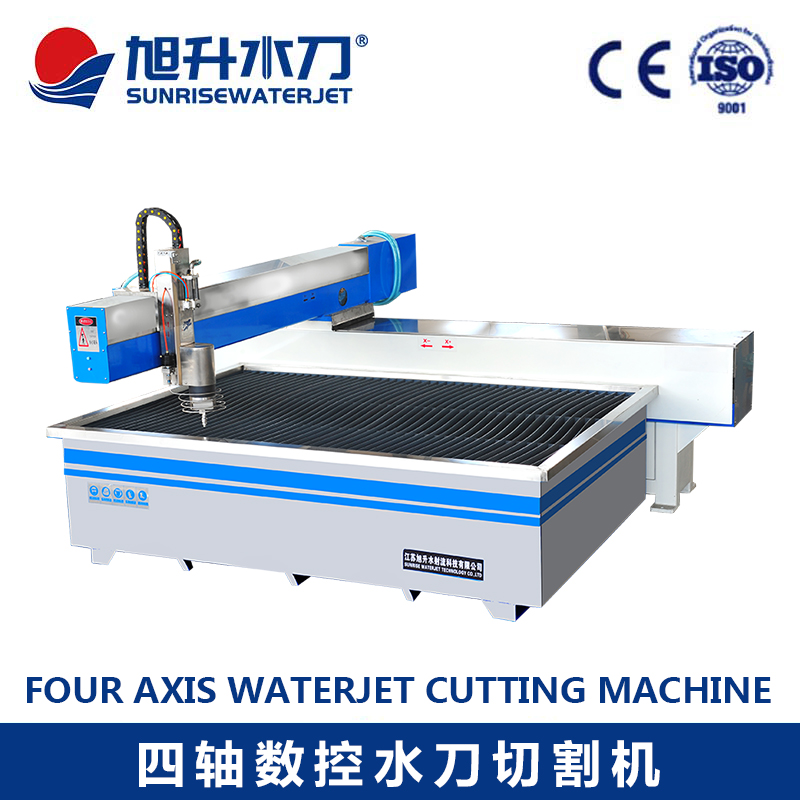 Small CNC Water Jet Cutting Machine for Glass/ Metal and Stone